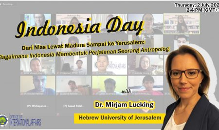 Indonesia Day From Nias via Madura to Jerusalem: How Indonesia Shapes an Anthropologist's Trip