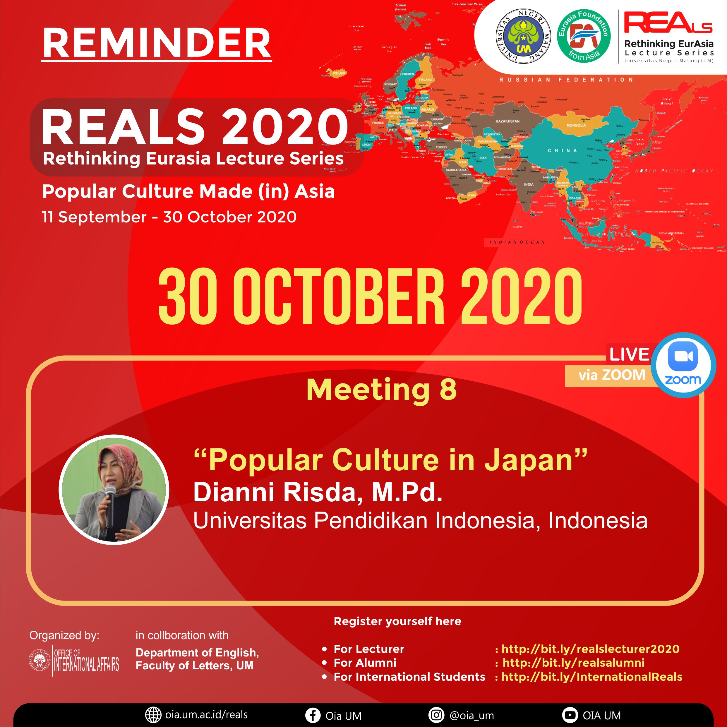 REALS Meeting 8-1